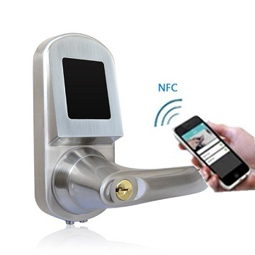 Smart Home Mobile Phone Card Key Intelligent Door Lock