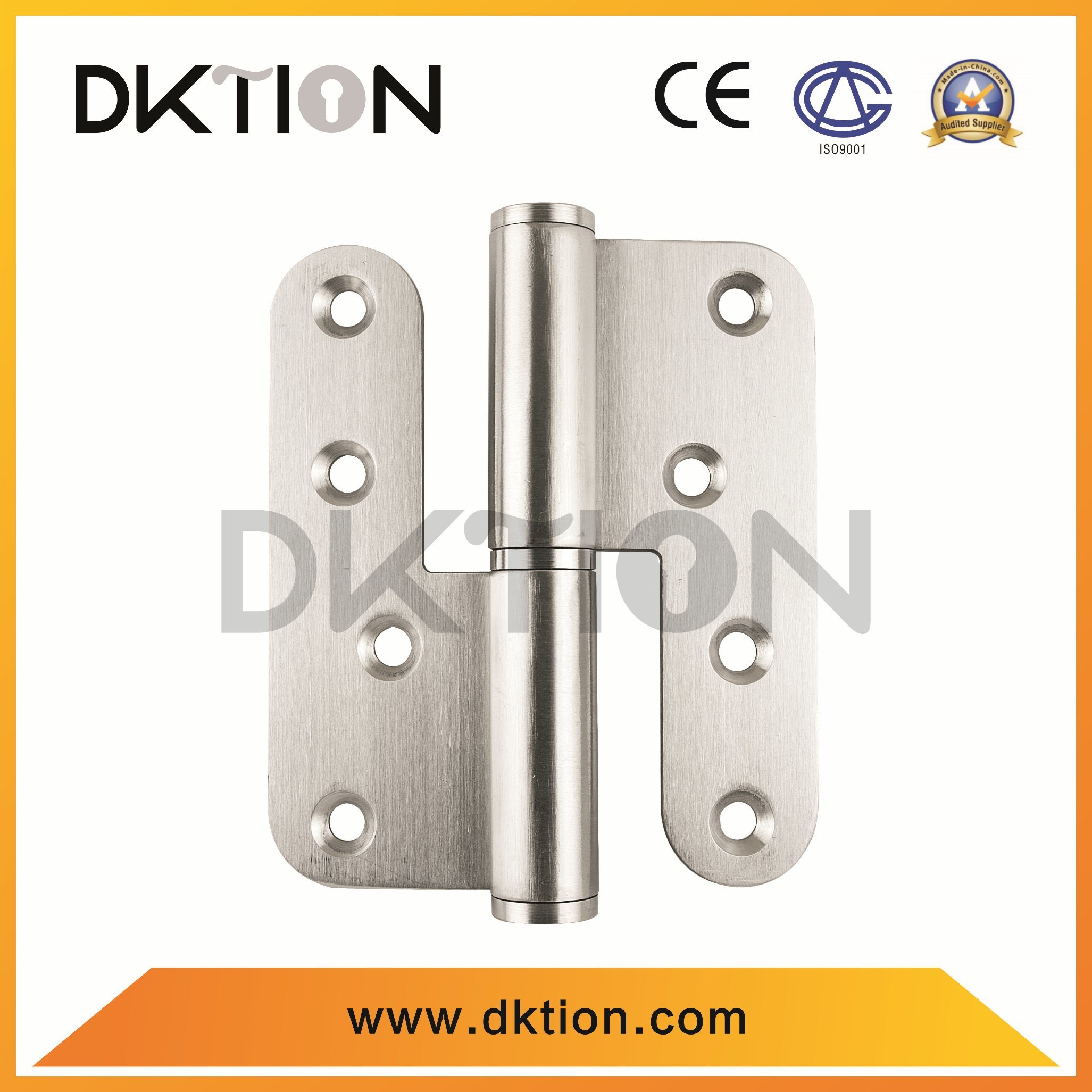 DH010 Stain Stainless Steel Ball Bearing Door Hinge