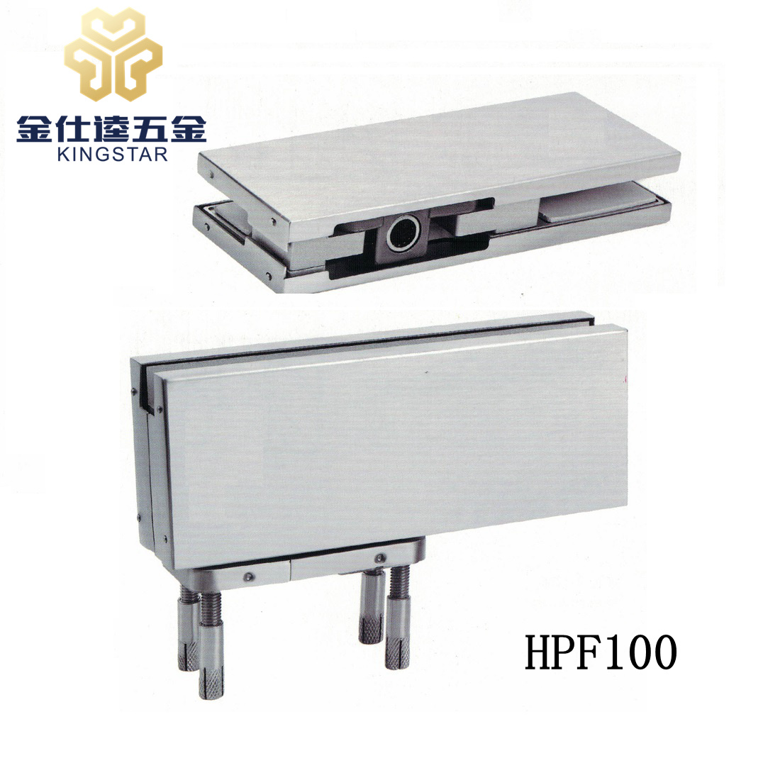 No Digging Floor Hinge Hydrauilc Patch Fitting Hpf100 for Glass Door