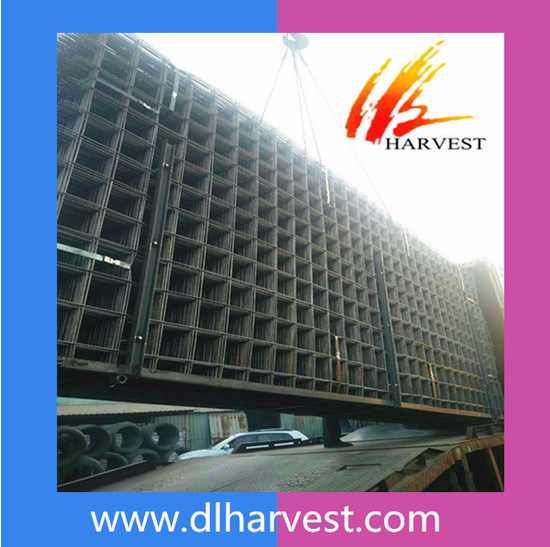 Building Ribbed Bar Welded Steel Reinforcing Wire Mesh