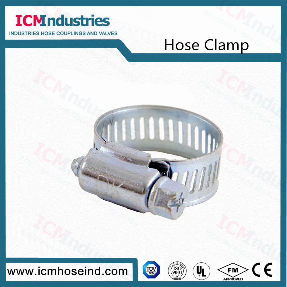 12.7 mm W5 American Type Worm Drive Hose Clamps