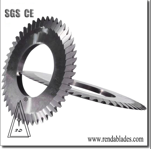 Circular Metal Tube/Pipe Tire/Tyre Rubber Slitter Cutting Saw Blade/Knife