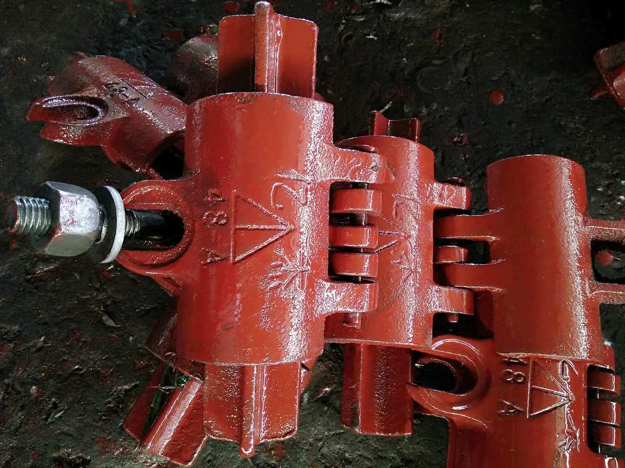 48 mm Scaffold Fixed Coupler for Construction Building