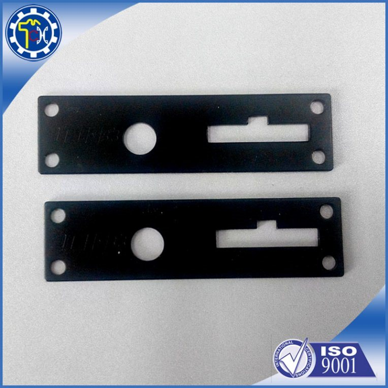 Metal Construction Stamping Part Indoor Hardware Straight Keyhole Brackets with Holes