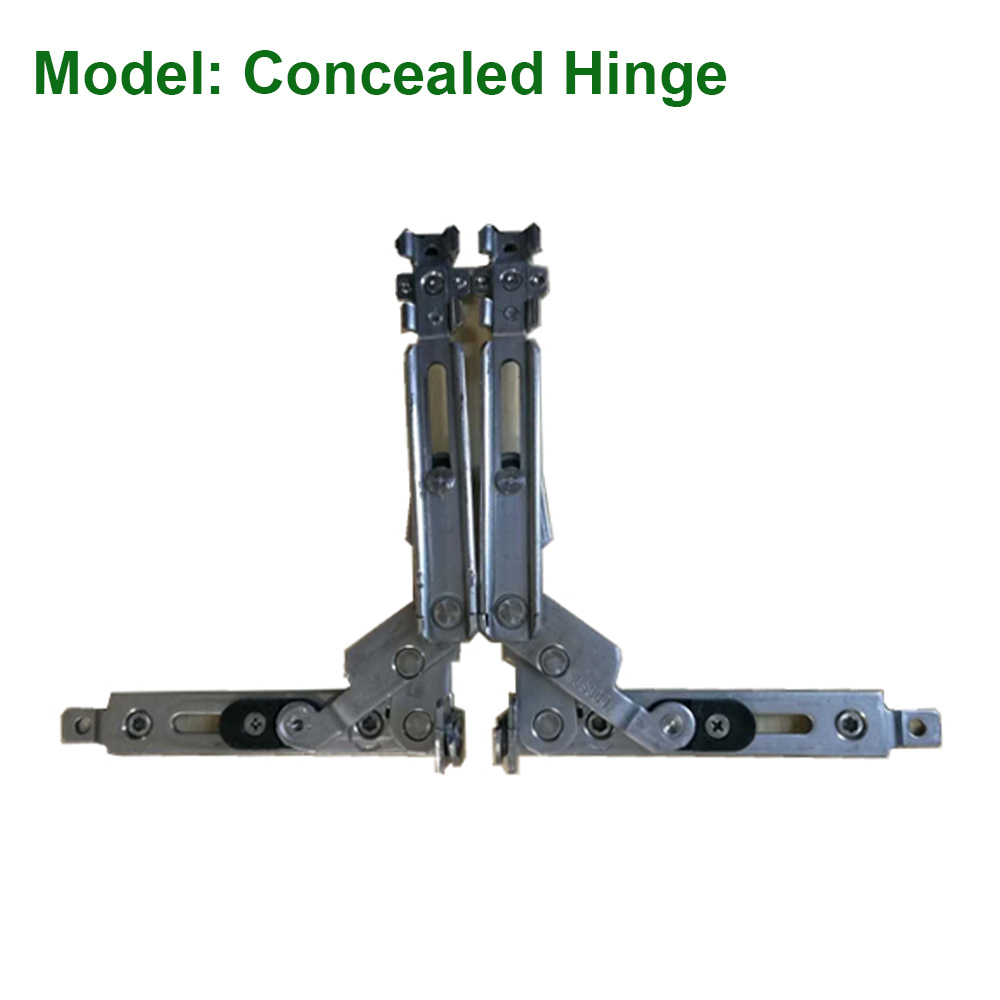 #304 Stainless Steel Concealed Hinge for Aluminum Window
