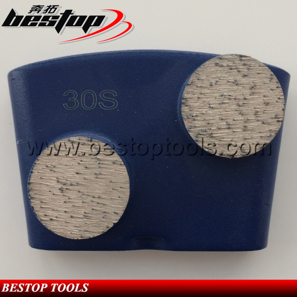 Diamond Round Segment Grinding Shoe for Ez Change HTC Grinding
