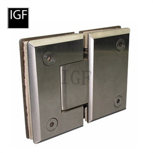 Quality Brass or Stainless Steel Glass Shower Hinge (SH-402-180S)