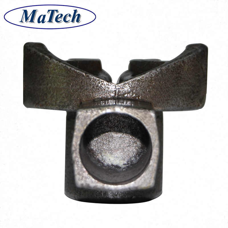 Steel Casting Foundry Heavy Duty Black Metal L Shape Bracket
