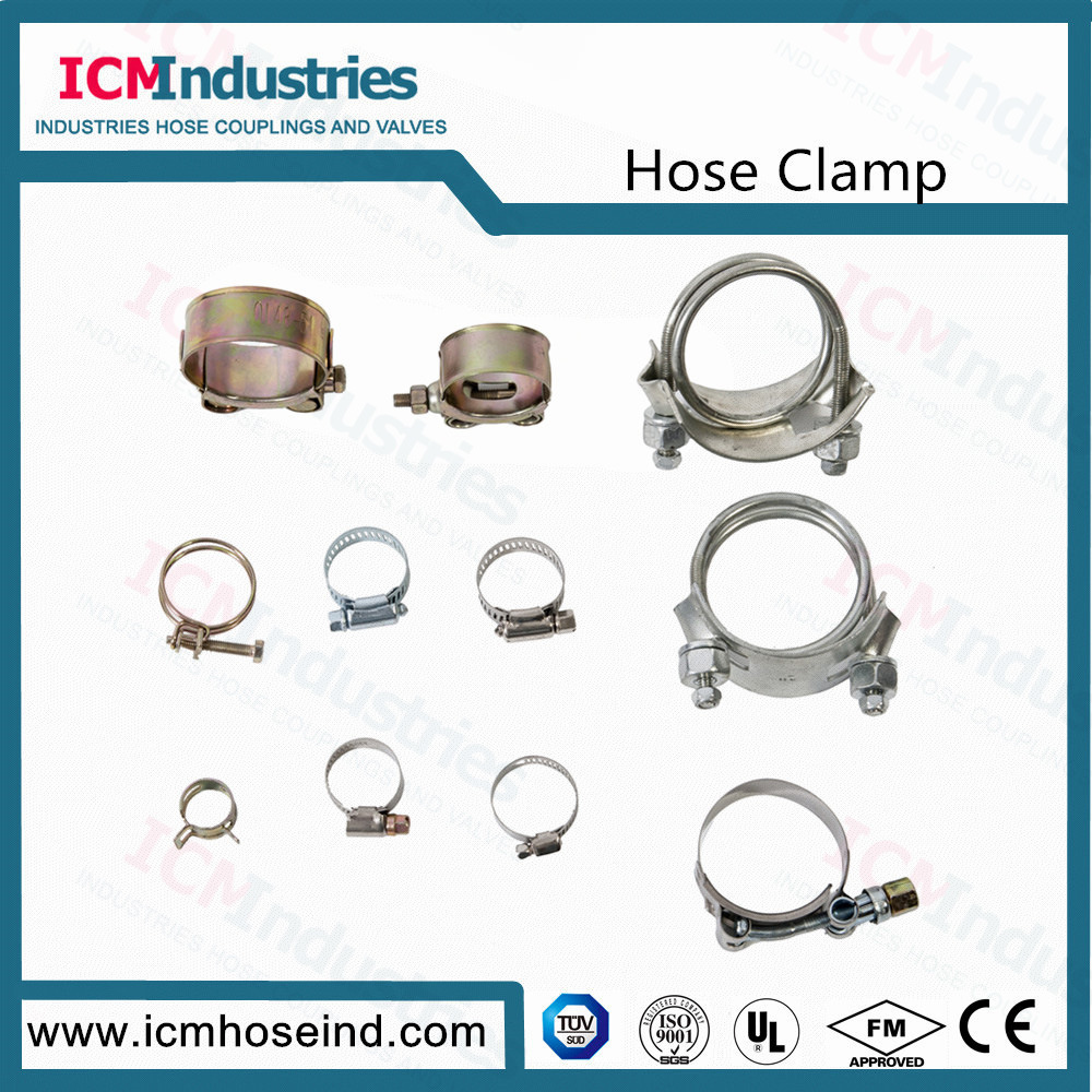 Stainless Steelbolthigh Pressure Hose Clamps