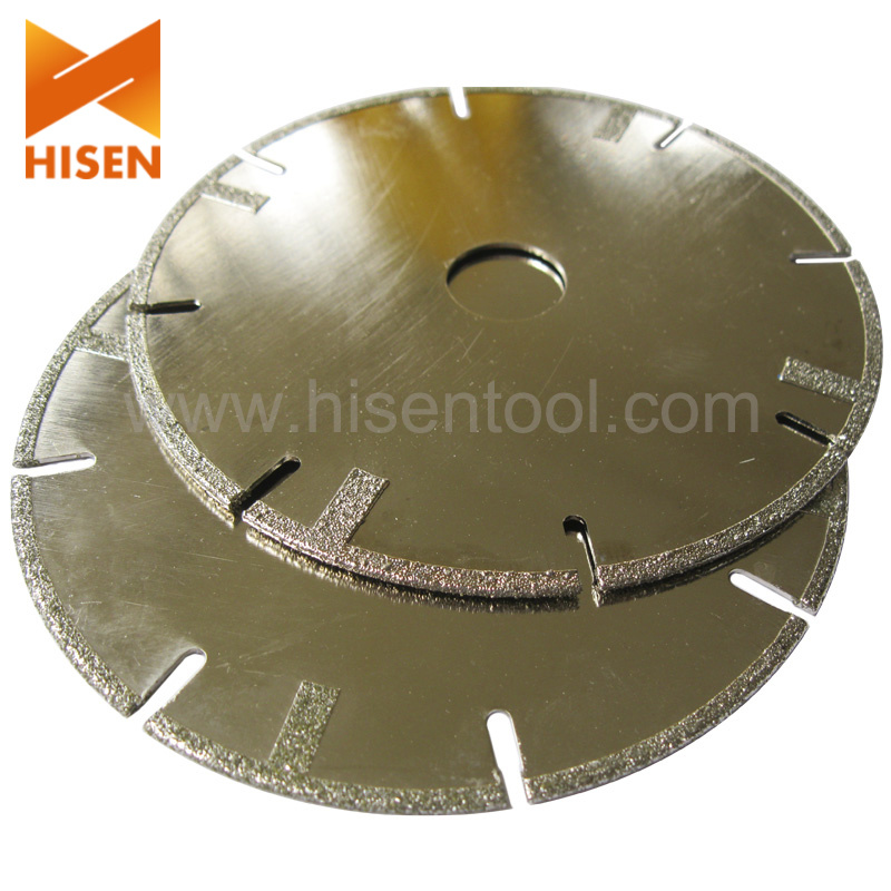 Electroplated Diamond Saw Blade for Glass, Stone