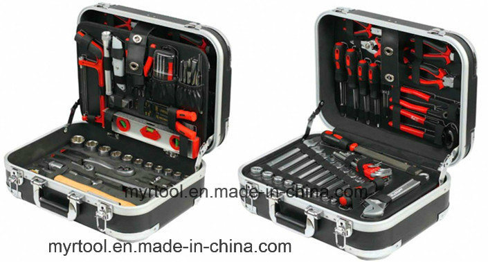 120PCS Professional Hand Tool in ABS Aluminium Case (FY120A)