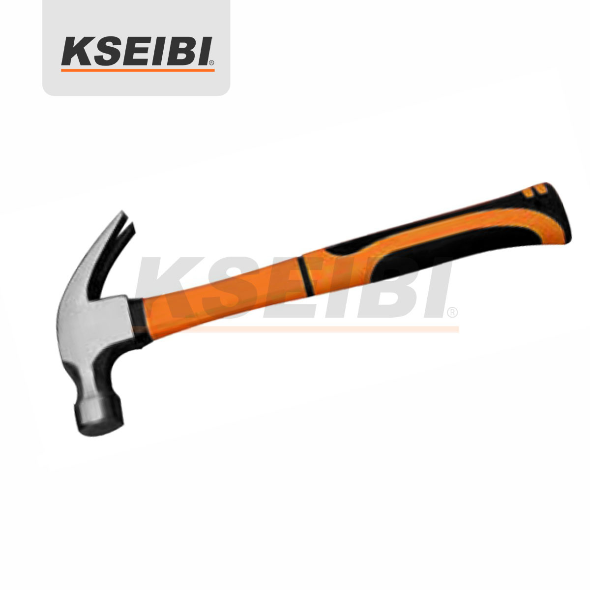 Kseibi Mater Curved/Straight Head Claw Hammer with Wooden Handle