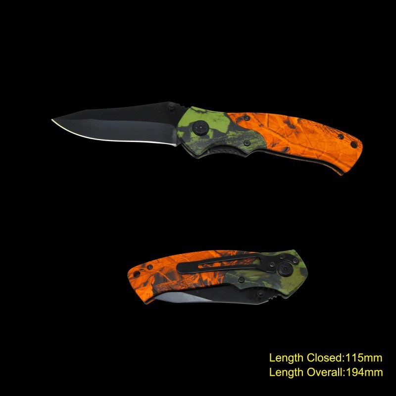 Folding Knife with Camouflage (#3686)