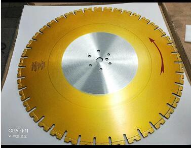 Laser Welded Wall Saw Arix Diamond Blade