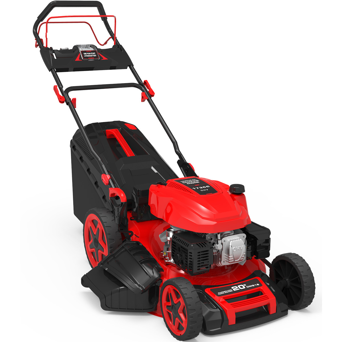 196cc Professional Electric Start Self-Propelled Lawn Mower