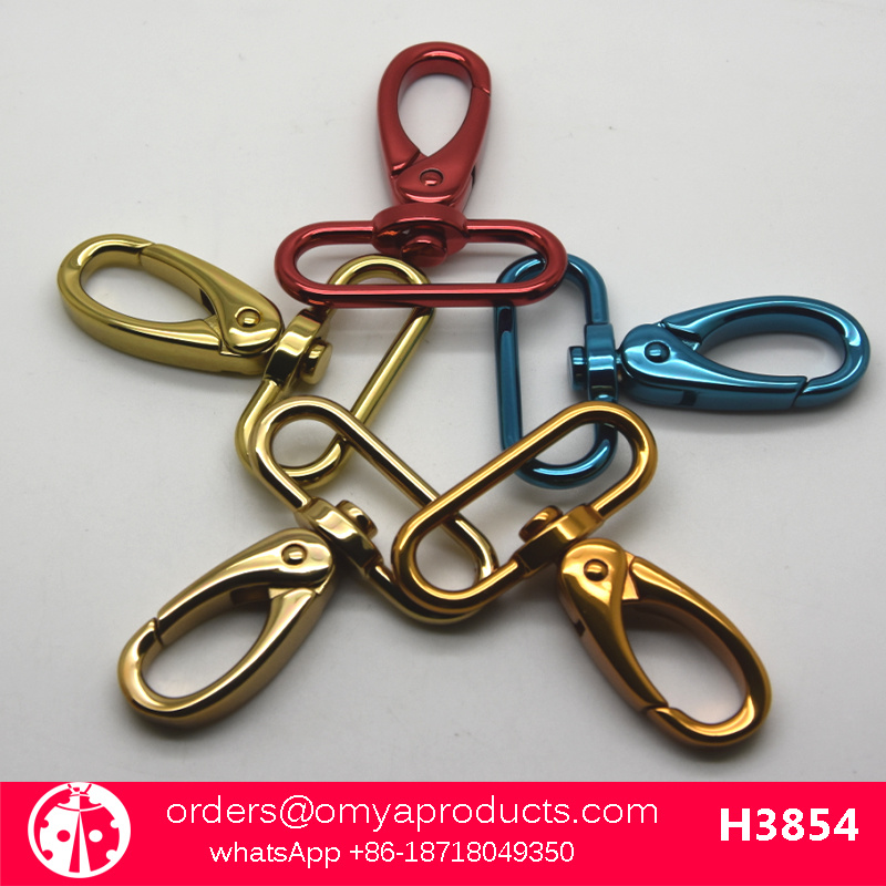 Color Hardware Bag Accessories Dog Clips Snap Hook for Bags