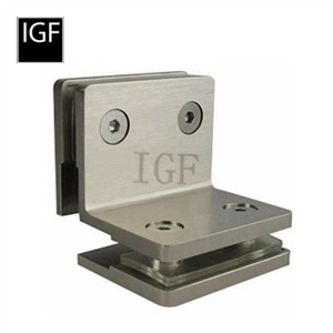 Quality Brass or Stainless Steel Glass Clamp (GC-604)