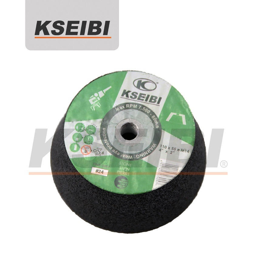 High Quality Kseibi Silicone Carbide/Aluminium Oxide Grinding Cup Wheel