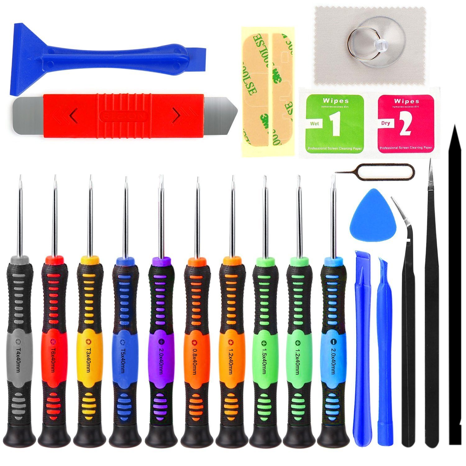 Professional Multi-Function Screwdriver Set Repair Kit Opening Tools