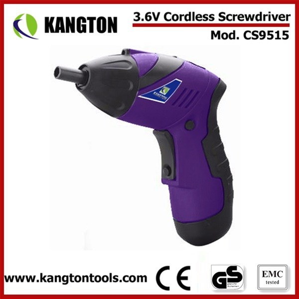 3.6V Electric DC Cordless Screwdriver Set (KTP-CS9515)