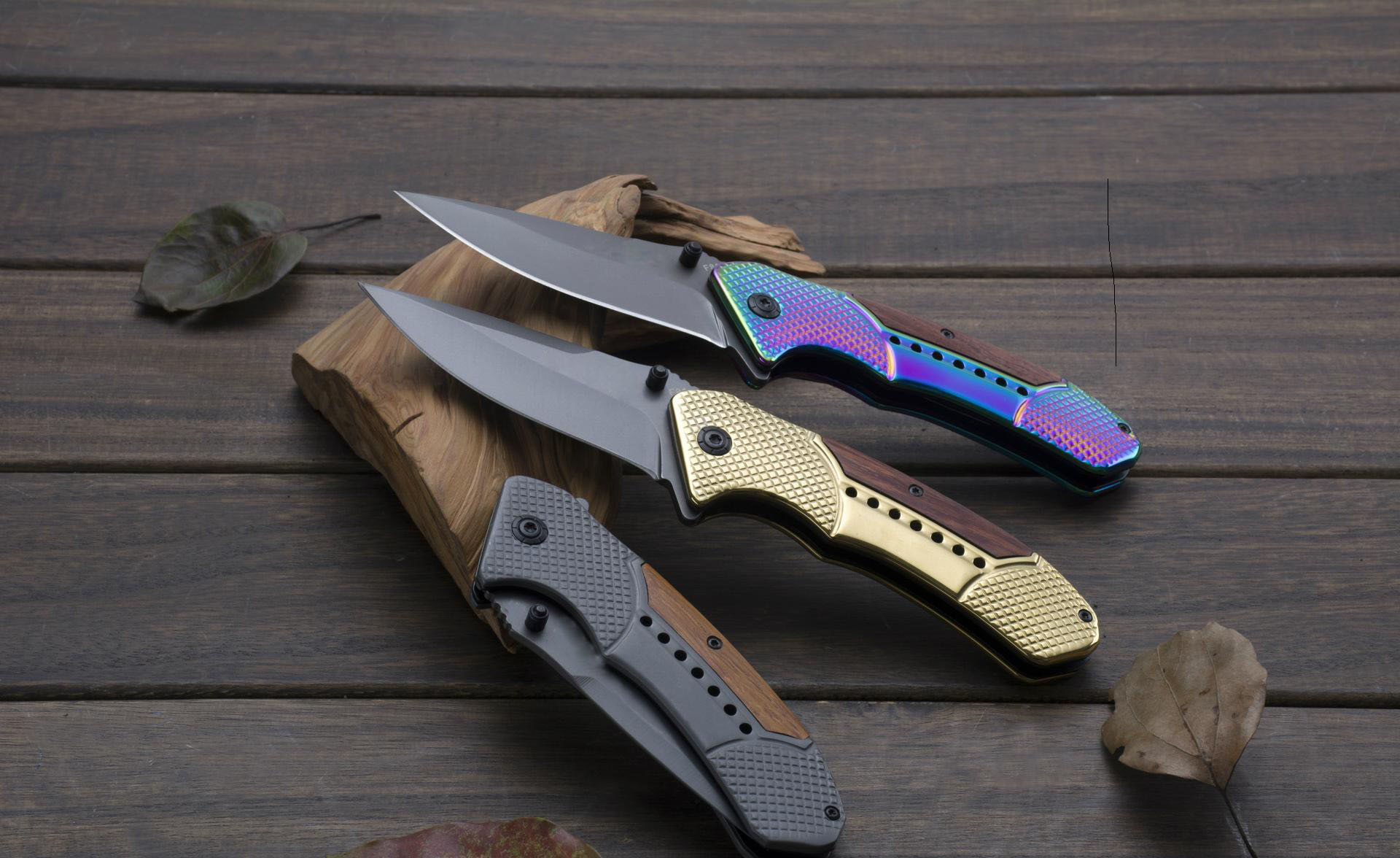 Stainless Steel Camping Folding Knife