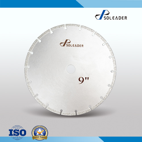 Brazed Diamond Saw Blade for Cutting Stone