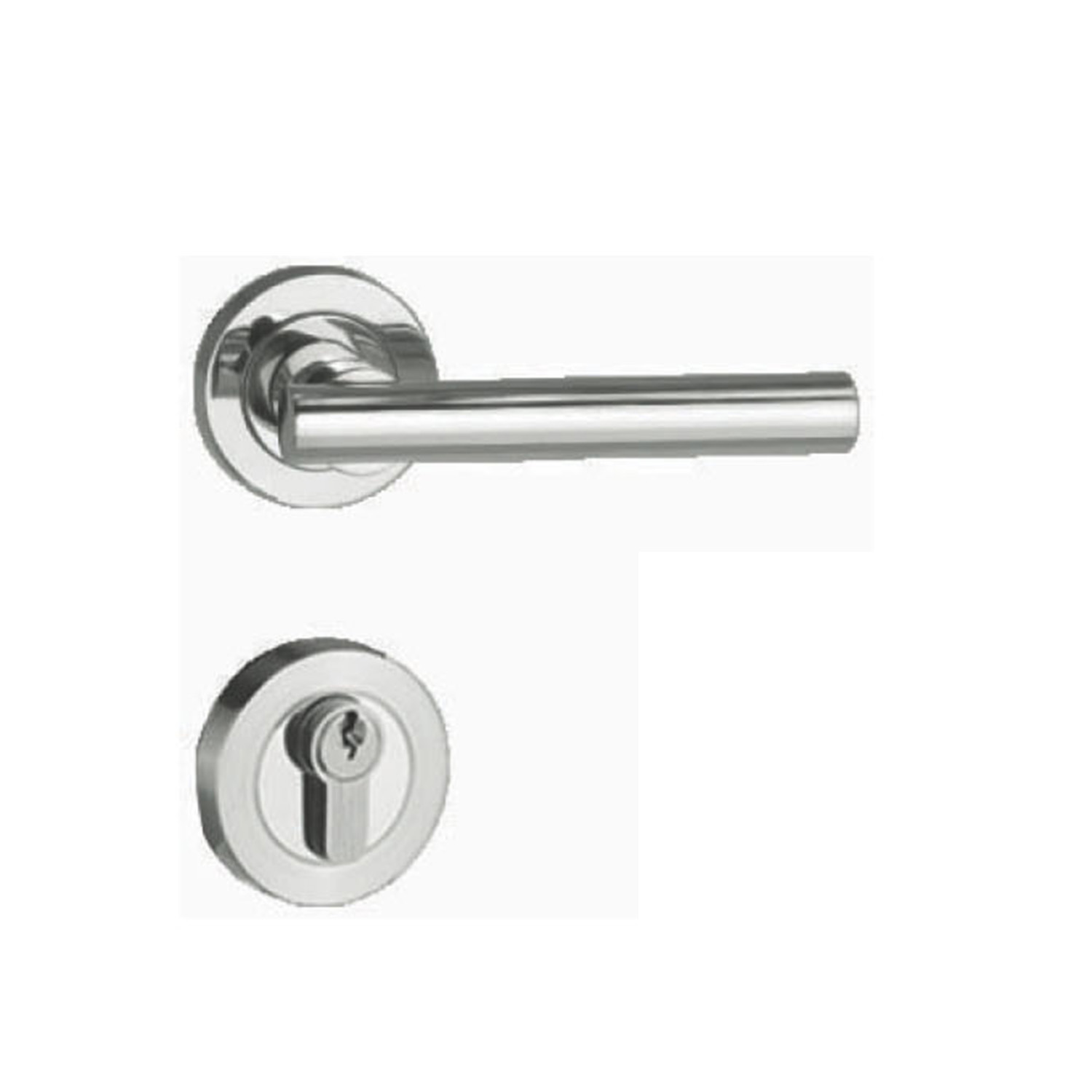 Zinc Alloy Handle Door Lock for Room Door