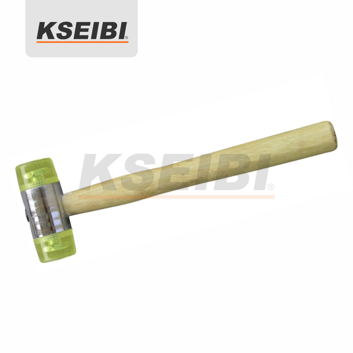 Kseibi One Way Soft Head Mallet Hammer with Wooden Hand