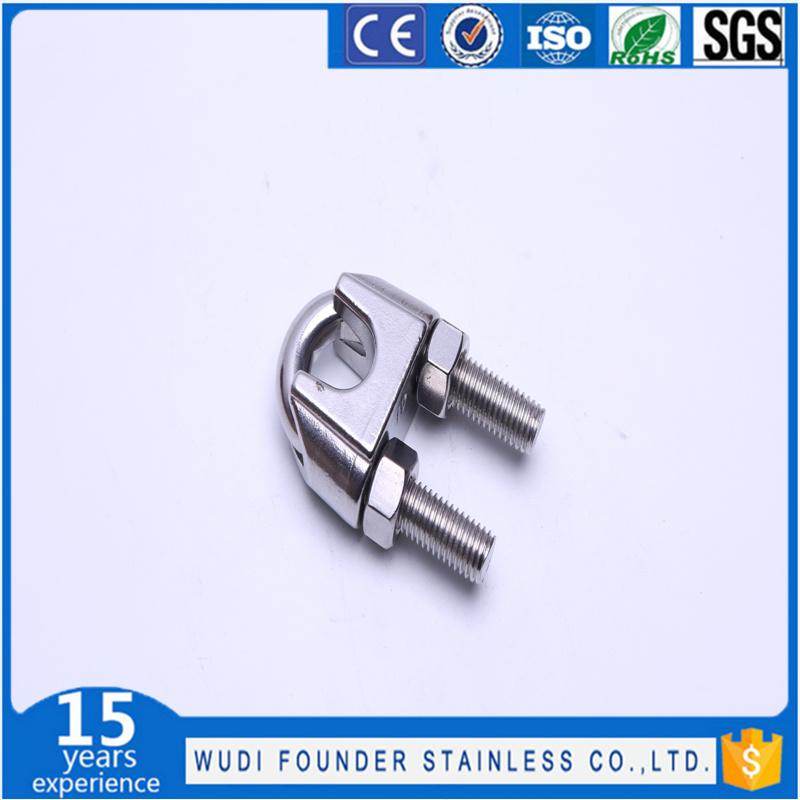 DIN741 Type Stainless Steel Wire Rope Clips
