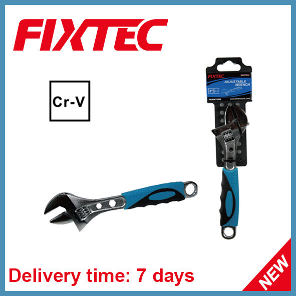 Fixtec Hand Tool 12'' CRV Material Adjustable Wrench