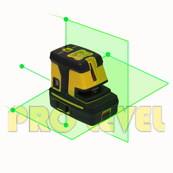 Cross Line and Five Points Laser Level Hand Tool (G25)