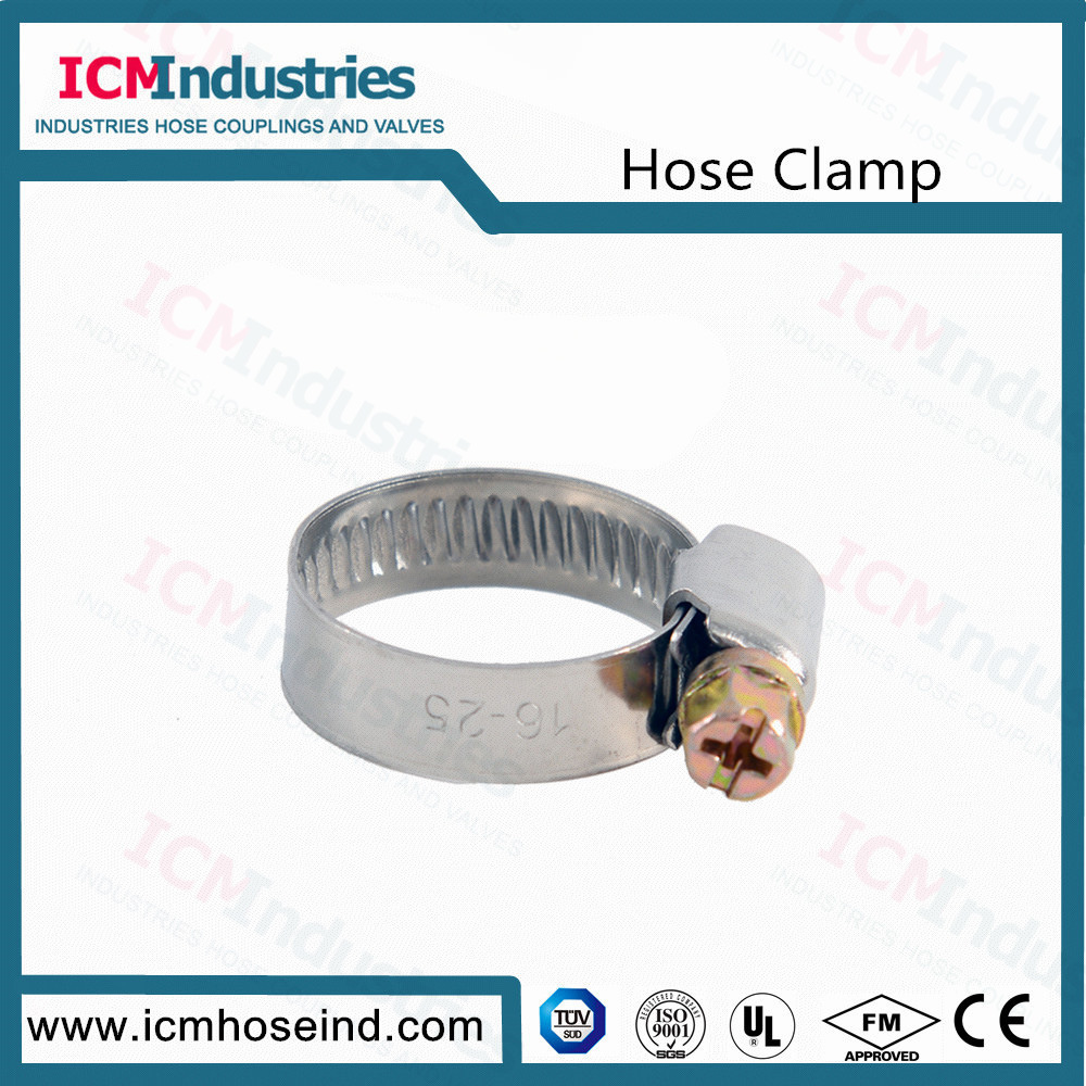 Germany Type Worm Drive Hose Clamp