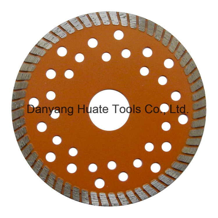 Diamond Saw Blade, Circular Cutting Blade, Turbo Segmented Blade, Cutting Disc