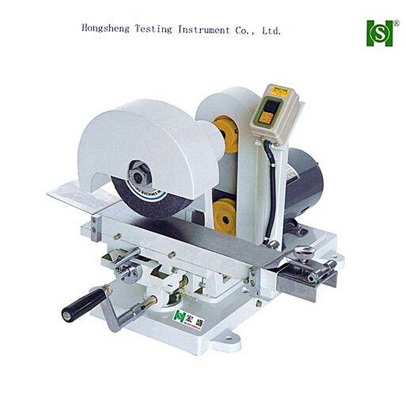 Test Material Portion Polishing Machine