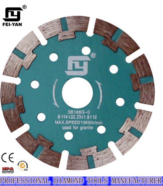 Turbo Type Diamond Saw Blade for Granite (S TURBO TYPE)