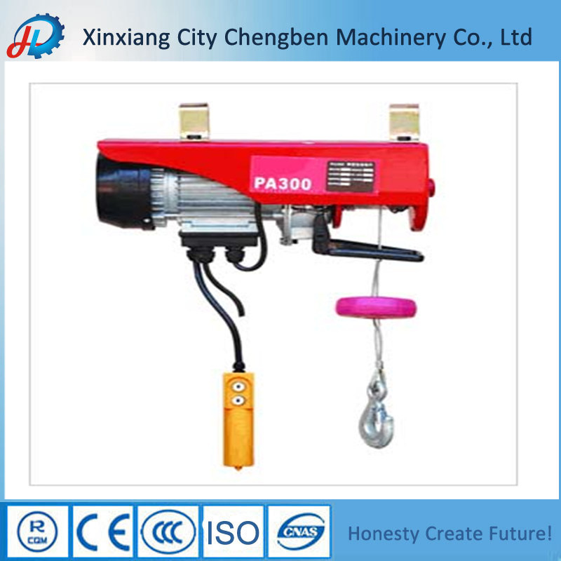 PA Electric Wire Rope Hoist Mini Power Winch