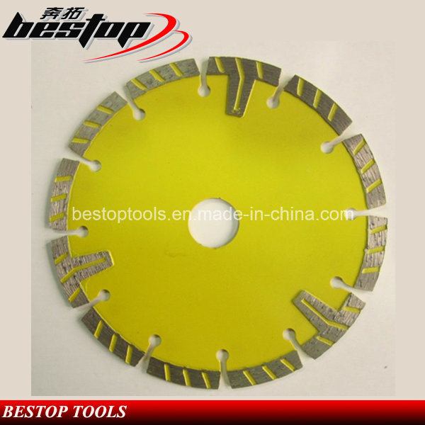 Protective T Type Turob-Segmented Blade for Concrete Cutting