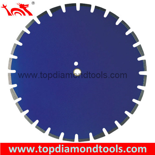Laser Welded Diamond Saw Blade for Cutting Asphalt and Green Concrete