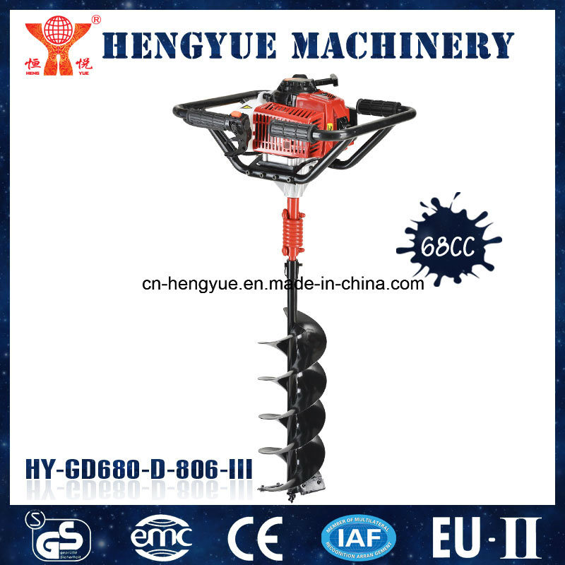 68cc Gasoline Ground Drill of Garden Tools