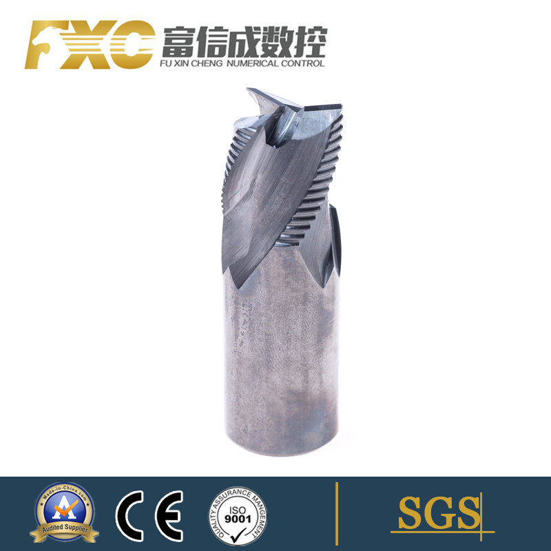 CNC Cutting Tool Tungsten Carbide Diamond End Mills with Roughing