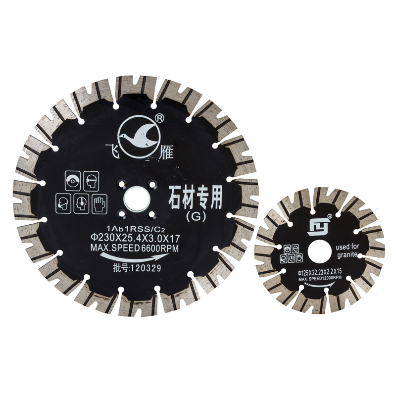 V Type Fast Cutting Diamond Saw Blade for Hard Granite