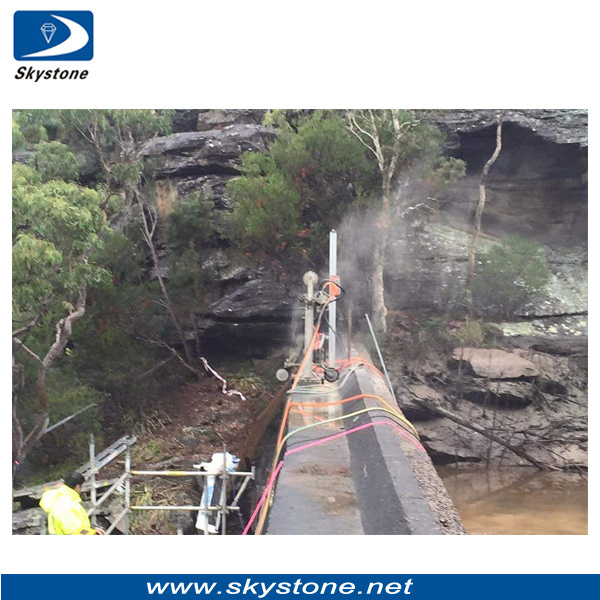 Diamond Wires for Dam Cutting, Dam Remould Project