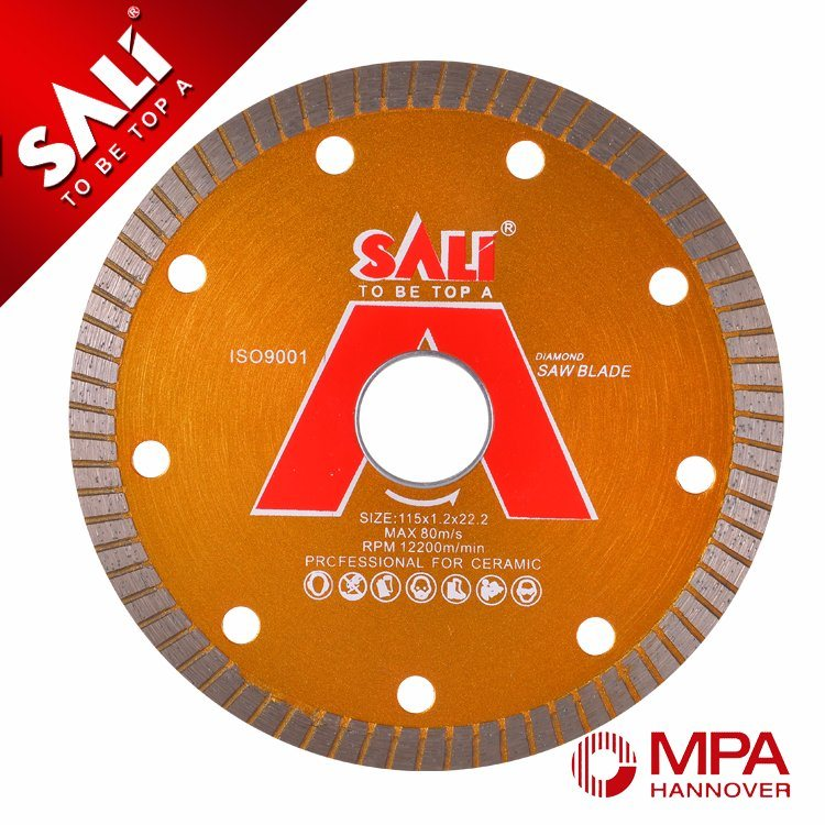 Sali 4 Inch Professional Diamond Segment Saw Blade for Ceramic