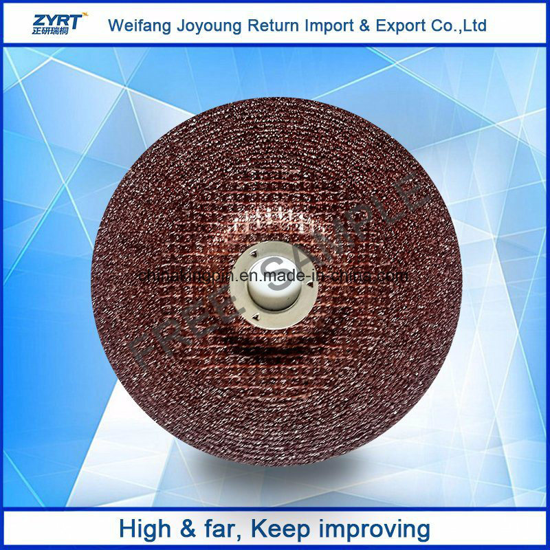 Resin Bonded Grinding Wheels Red Color Grit 46 High Quality