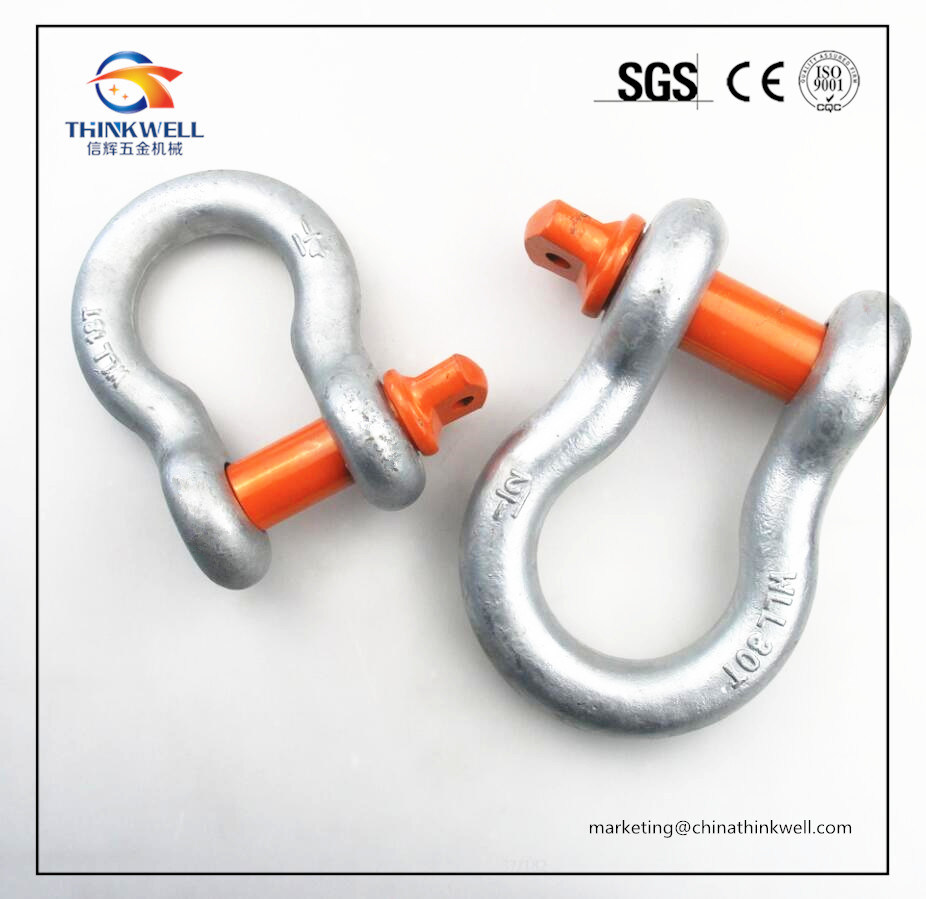 Heavy Duty G80 G209A Alloy Steel Body Screw Pin Shackle