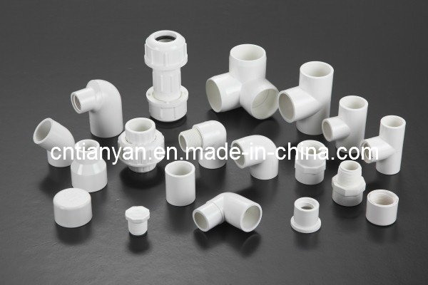 PVC ASTM Sch40 Pipe Fittings for Water Supply