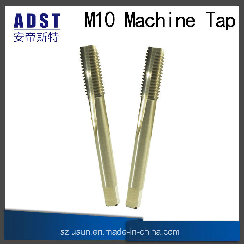 High Quality Hardness High Speed Steel M10 Machine Tap