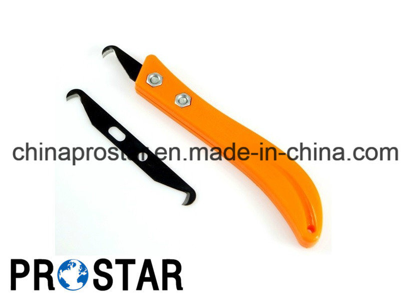 Plastic Net Cutting Knife with Double Head Blade