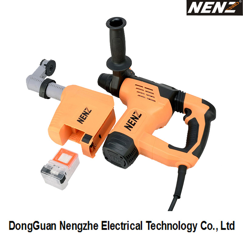 Electric Hammer Drill Corded Rotary Hammer with Dust Collection (NZ30-01)