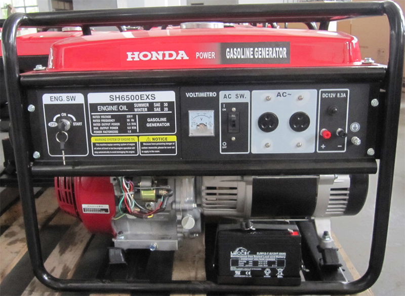 5.5kVA Gasoline Generator with E Start for Honda